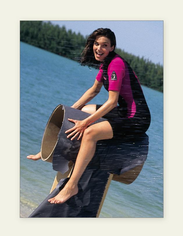 Ride a Dolphin