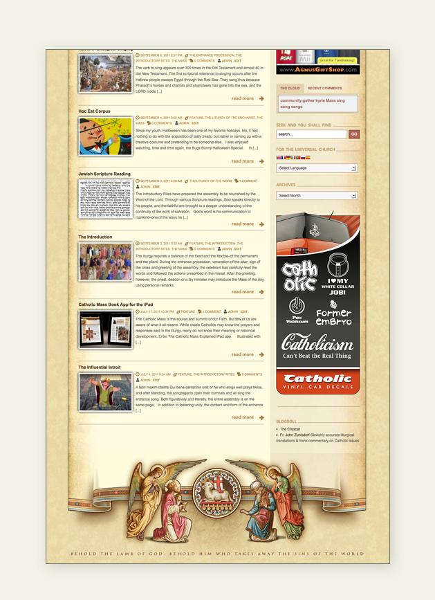 Roman Catholic Liturgical Blog