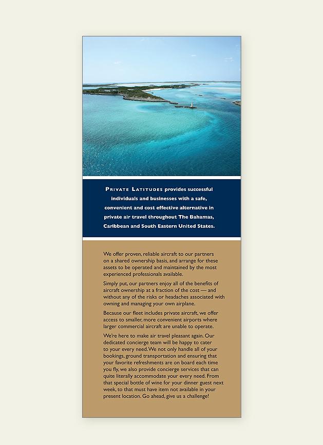 Private Latitudes Brochure