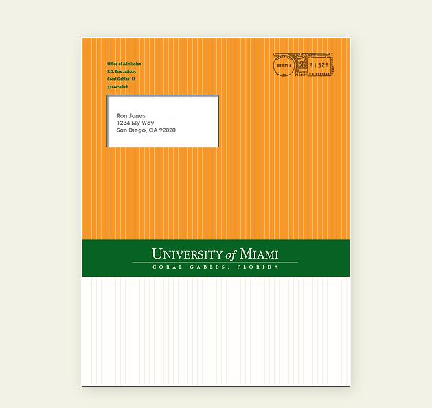 Undergraduate Acceptance Package